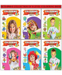Collection of 0 Level Coloring Books  - English