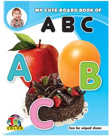 My Cute Board Book of ABC - English