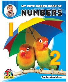 My Cute Board Book of Numbers - English