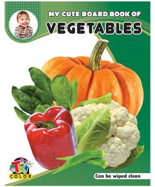 My Cute Board Book of Vegetables - English