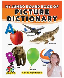 My Jumbo Board Book of Picture Dictionary - English