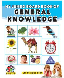 My Jumbo Board Book General Knowledge - English