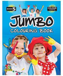 Jumbo Coloring Book 5 - English