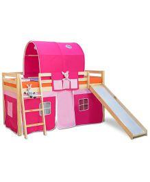 Alex Daisy Montana Loft Bed   Pink