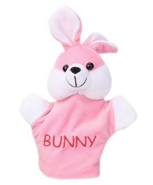 Play Toons Bunny Hand Puppet Pink - Height 21 cm