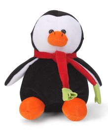 Play Toons Penguin Soft Toy Black - 20 cm
