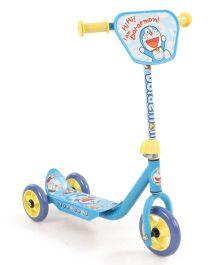 Doraemon 3 Wheel Scooter - Blue