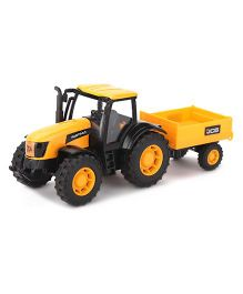 JCB Die Cast Construction Series Fastrac Replica Toy - Yellow And Black