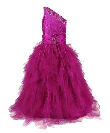 The Wild Cat Princess Gown - Purple
