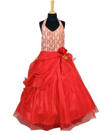 The Wild Cat Sparkle Gown - Red