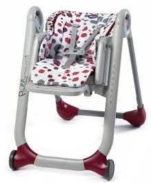 Chicco New Polly Progress5 High Chair - Cherry