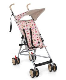 Cuddles and Strollers Floral Print - Cream