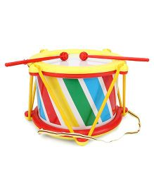 Lovely Musical Drum Big - Yellow & Red