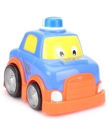 Lovely Friction Powered Duffy Car - Blue & Orange