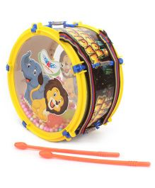 Lovely Pom Pom Drum Big - Yellow