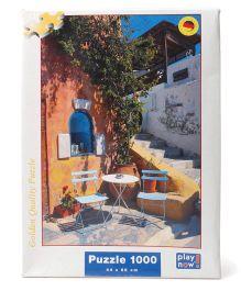Play Now Greece Puzzle Set Multicolor - 1000 Pieces