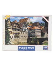 Play Now Houses On Kocher River Puzzle Set Multicolor - 1000 Pieces
