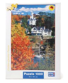 Play Now Rockport Puzzle Set Multicolor - 1000 Pieces