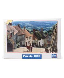 Play Now Gold Hill Puzzle Set Multicolor - 1000 Pieces