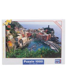 Play Now Vernazza Puzzle Set Multicolor - 1000 Pieces