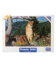 Play Now Puma Puzzle Set Multicolor - 1000 Pieces
