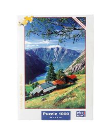 Play Now Hordaland Puzzle Set Multicolor - 1000 Pieces