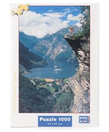 Play Now Fjord Norway Puzzle Set - Multicolor