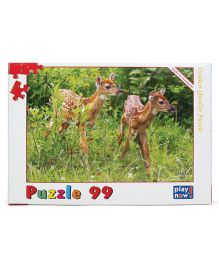 Play Now Deer Cubs Puzzle Set Mutlicolor - 99 Pieces