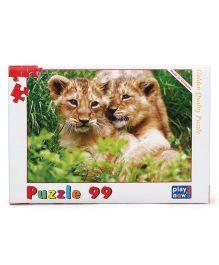 Play Now Lion Cubs Puzzle Set Mutlicolor - 99 Pieces