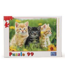 Play Now Kittens Puzzle Set Mutlicolor - 99 Pieces