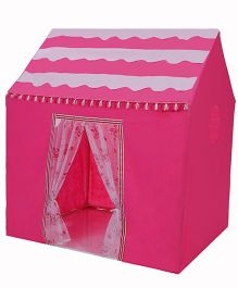Playhood Play House With Net Doors - Pink