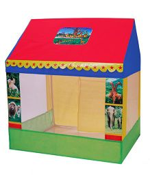 Playhood Play House Jungle Safari - Multi Color
