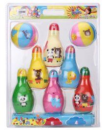 Toymaster Soft Bowling Set - Multicolor