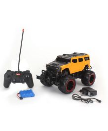Toymaster Remote Control Cross Country Pick Up - Yellow And Black