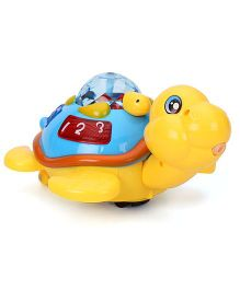Toymaster Tortoise With Projector And Lights - Yellow