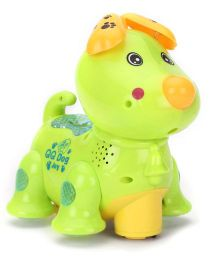 Toymaster Dog With Projector - Green