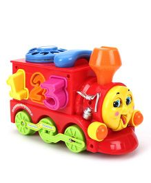 Toymaster Smart Train Educational Toy - Red
