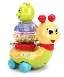 Toymaster Stacking And Flashing Snail - Multicolor