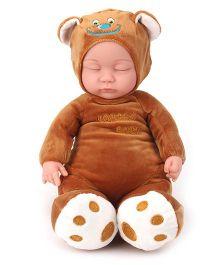 Toymaster Soft Sleeping Doll - Brown
