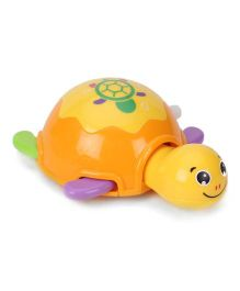 Toymaster Wind Up Turtle Toy - Orange