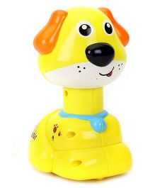 Toymaster Press And Go Puppy Toy -  Yellow
