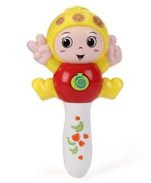 Toymaster Flashing Stick With Music - Multicolor