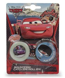 Disney Dickie Pixar Cars Wheelies - Blister Pack Of 2