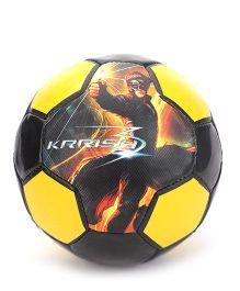 Simba Krrish 3 Soccer Ball - Yellow