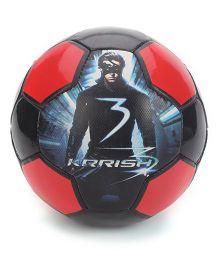 Simba Krrish 3 Soccer Ball - Red
