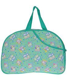 JG Shoppe Diaper Bag - Sea Green