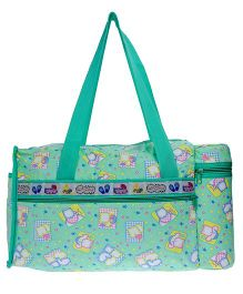 JG Shoppe Diaper Bag - Sea Green