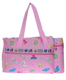 JG Shoppe Diaper Bag - Pink