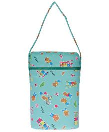 JG Shoppe Cutesy Baby Water Bottle Bag Fits Upto 500 ml Each - Green