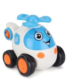 Smiles Creation Toy Helicopter - Blue And White